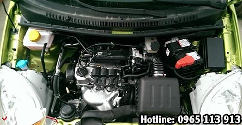 Xe Spark Van với động cơ SOHC 0.8L