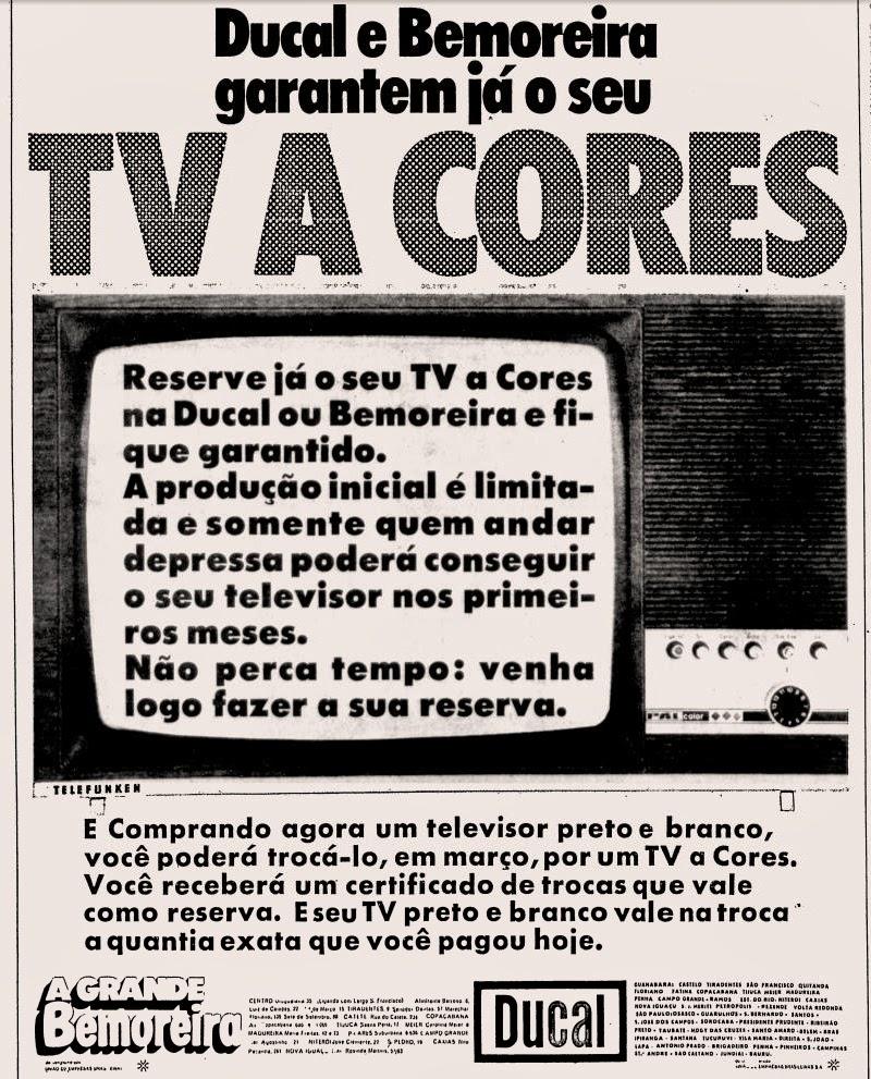anos 70. transmissão da tv nos anos 70. década de 70. história anos 70.