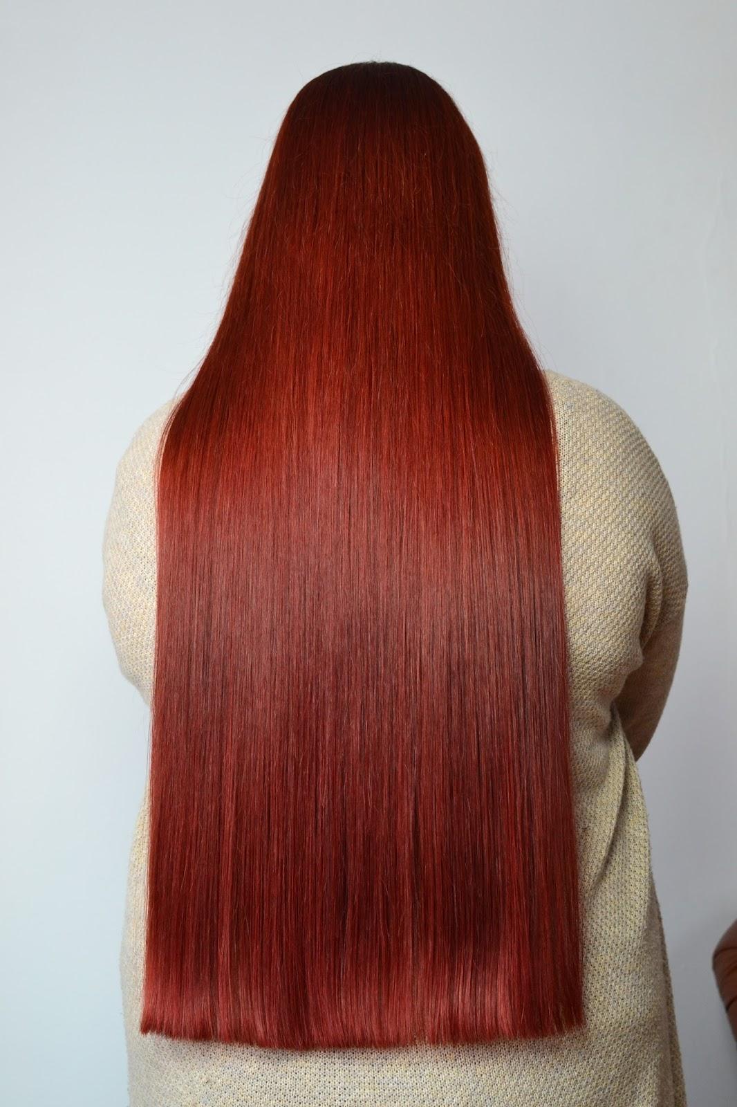 Aktualizacja włosowa Luty-marzec - koniec czerwonych włosów? Jak wygląda moja walka z kapryśnymi włosami