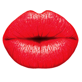 say sorry with kiss, saying sorry to him with passioante pink lips