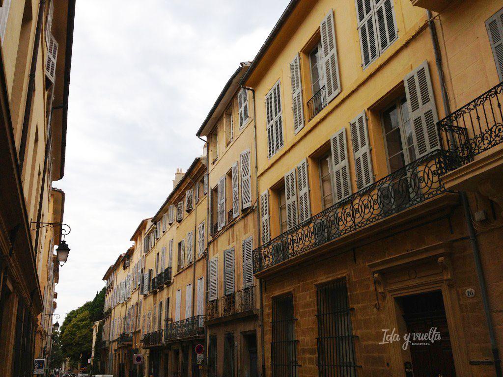 Las calles de Aix