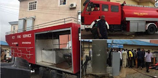 AIT Television Offices in Abuja Gutted by Fire (Photos)