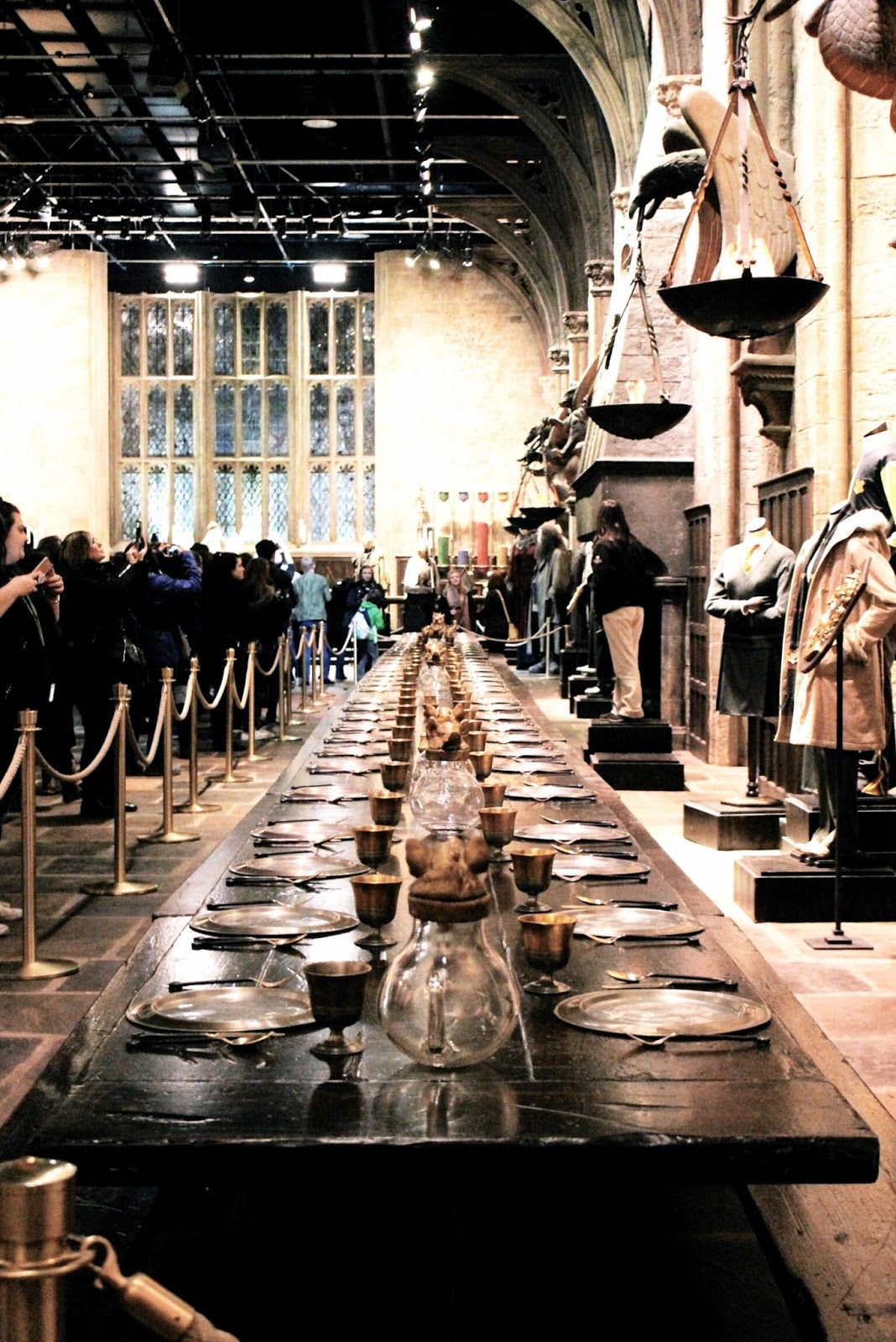 Harry Potter Grand Hall at Studio Tour