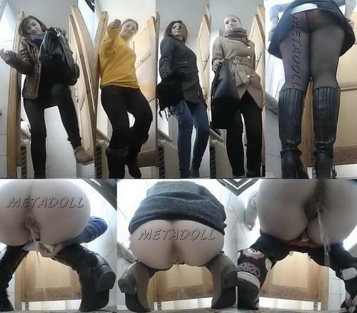 College Girls Peeing in Toilet with Hidden Camara (PissWC 205)
