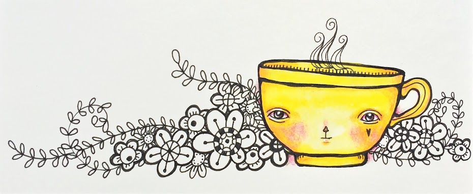 my yellow teacup