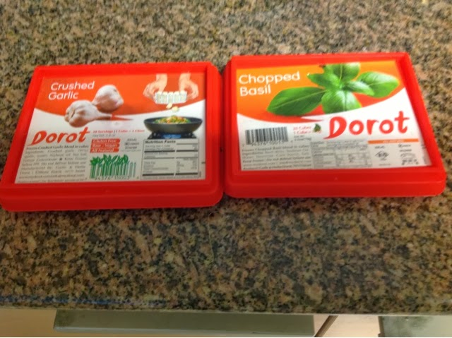 frozen Dorot spices