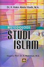 BUKU METODOLOGI STUDI ISLAM