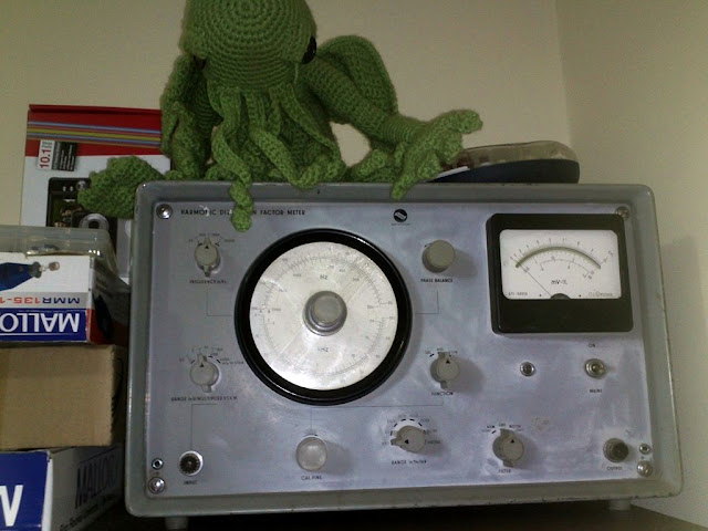 Distortion Meter TR-9602 - ELKIS TR-9602 TORZITASMERO