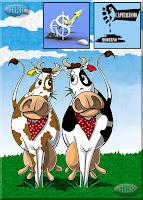 Tú tienes 2 vacas lecheras