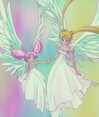 Sailor Moon Usagi & Chibiusa