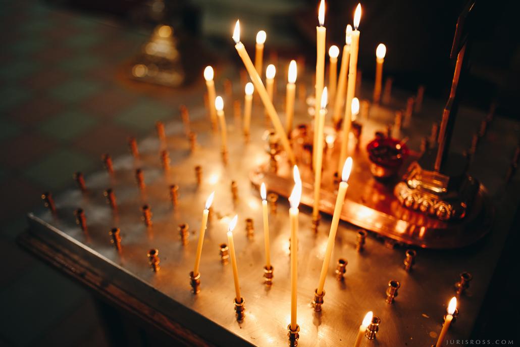 baznīcas sveces