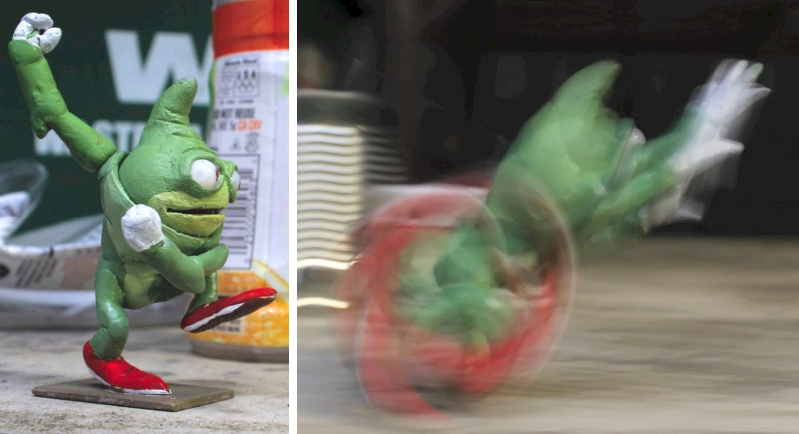 Gurney Journey: Getting Blur into Stop Motion Animation