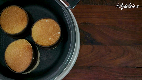 Dailydelicious souffl pancake japanese style gently turn the pancake upside down ccuart Choice Image
