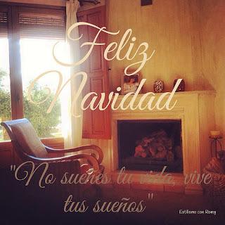 Feliz Navidad, estés donde estés y en buena compañía!!!