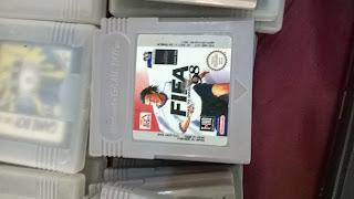 Nintendo Gameboy Fifa 98 Game Cassette