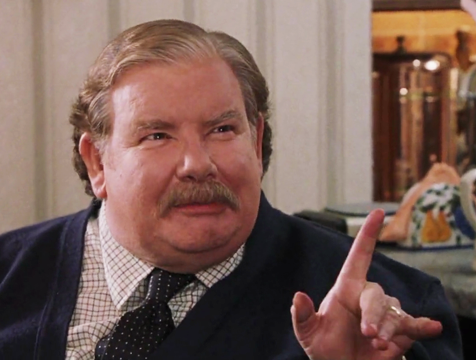 Vernon Dursley (Richard Griffiths) en Harry Potter y la piedra filosofal - Cine de Escritor