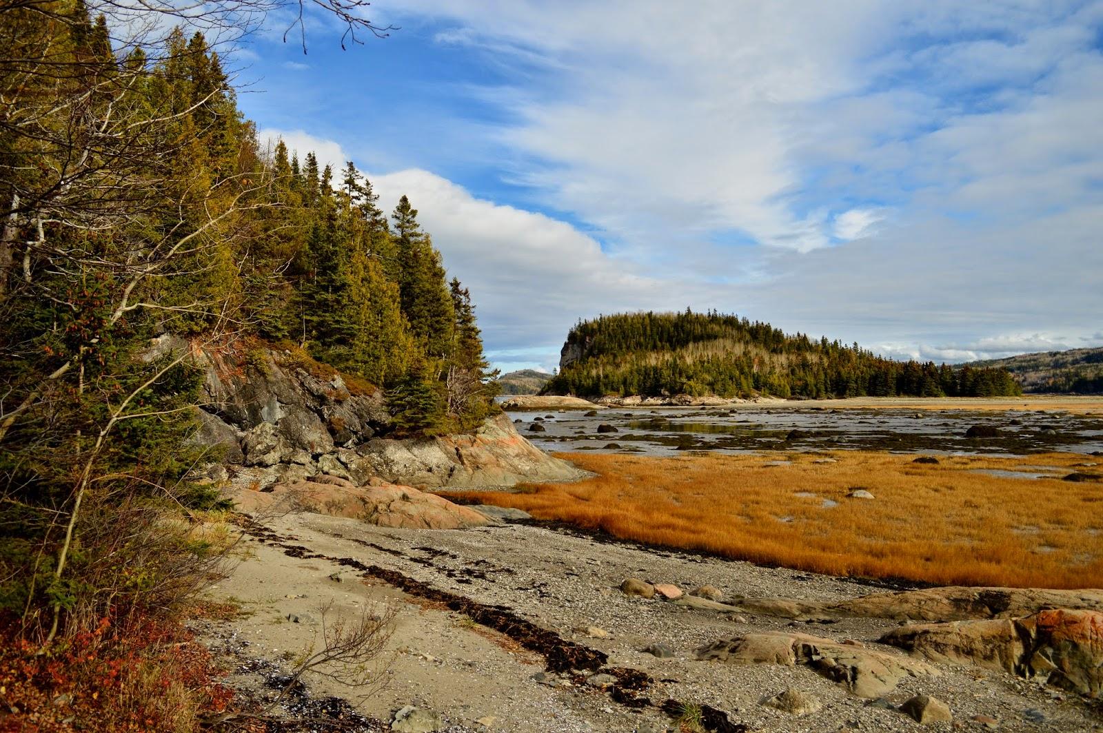 Parc national du Bic au Québec