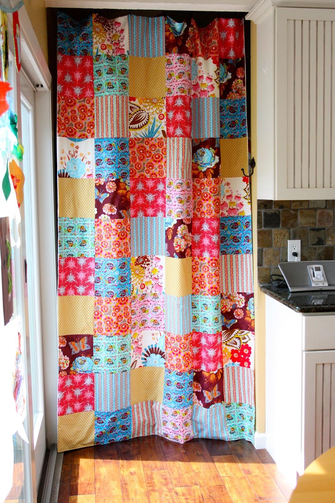 MOM Patchwork Curtain
