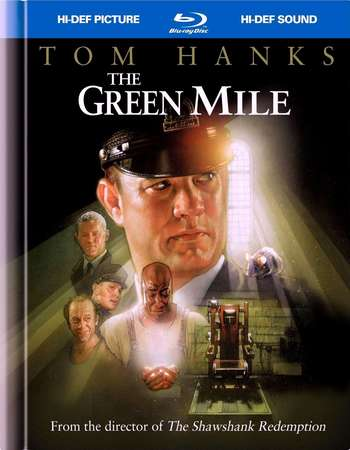 Poster Of The Green Mile 1999 English 450MB BRRip 480p ESubs Watch Online Free Download Worldfree4u