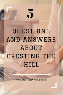 Answering five questions about Cresting the Hill