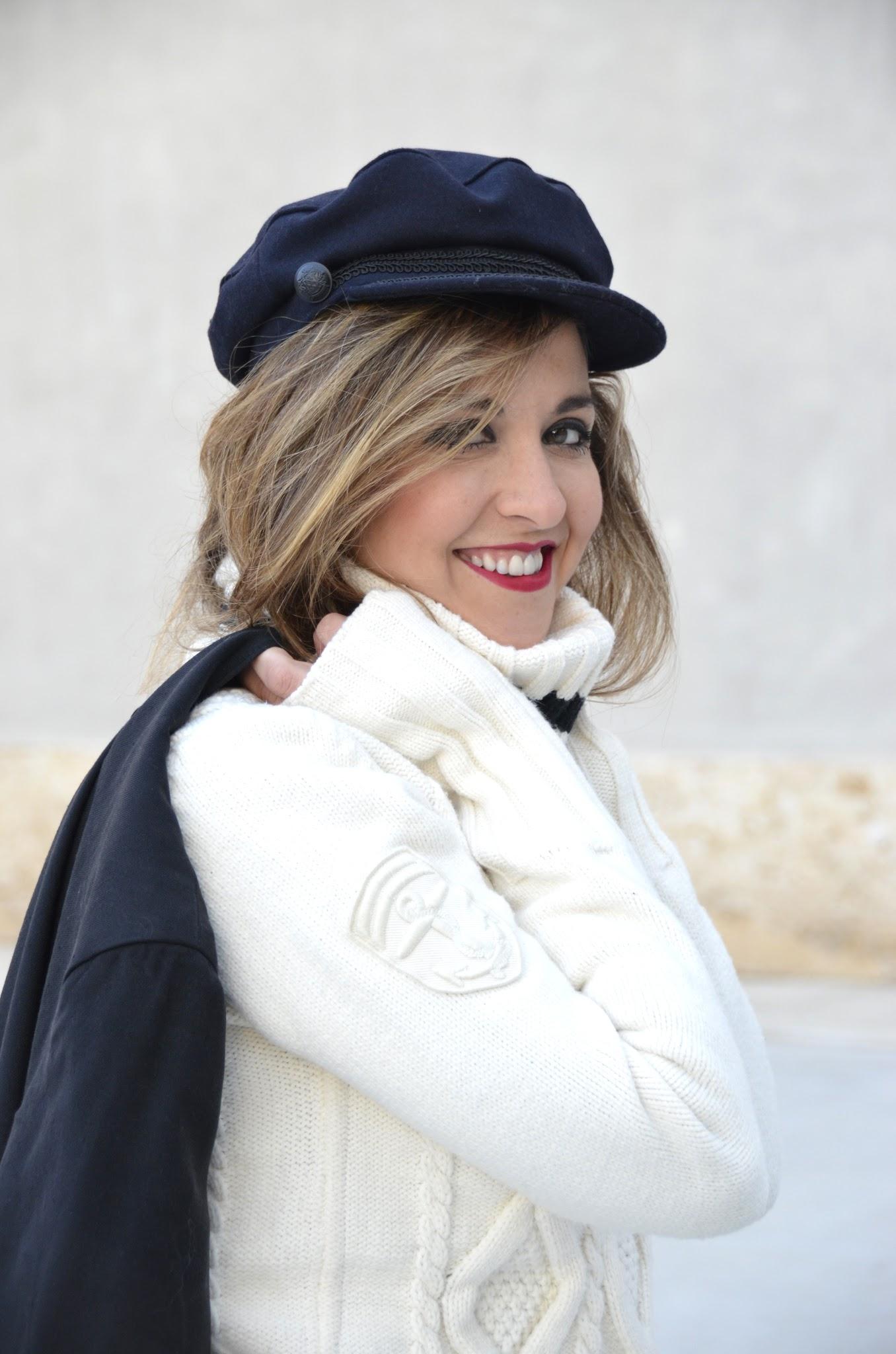 gorra marinera fall winter 2016 blogger tarasessence