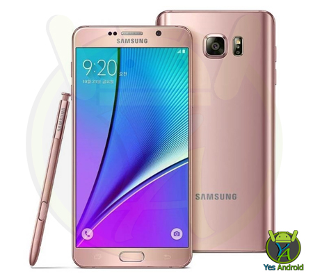 N9208XXS2BPG3 Android 6.0.1 Galaxy Note 5 SM-N9208