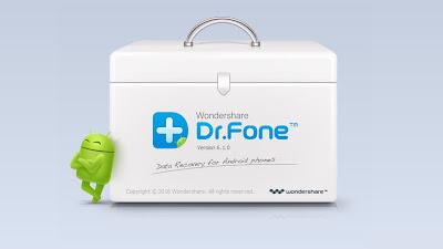 تطبيق Dr Fone لإسترجاع كل بيانات هاتفك حتى إن قمت بفرمتة هاتفك مئات المرات (روت)