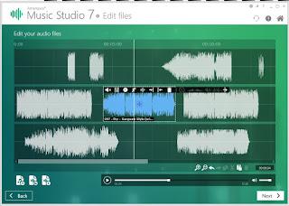 تنزيل برنامج تعديل الصوت واضافة مؤثرات Ashampoo Music Studio