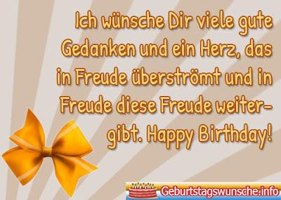 Übliche Geburtstagswünsche