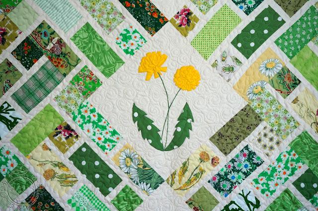 lapitekkide müük, green floral quilt