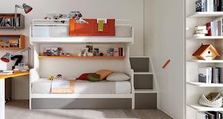 cuarto con cama litera