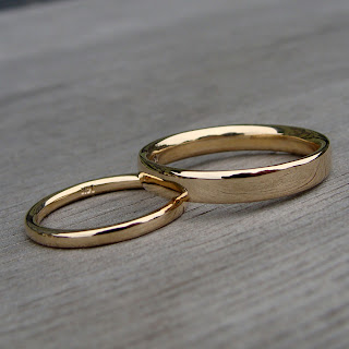 recycled gold bands