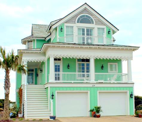 Decorative Coastal House Trim For Your Porch And Beyond Coastal Decor Ideas And Interior