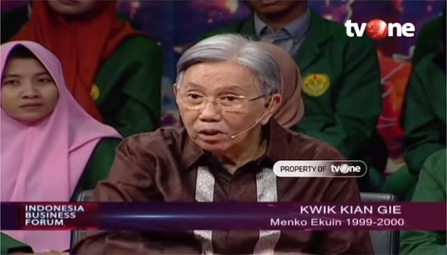 Kwik Kian Gie: Prabowo Betul, Negara Kita Tidak Berdaulat