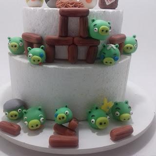 Angry Birds Bad Pig de biscuit