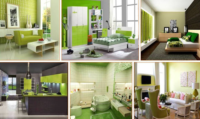 Rooms that prove green Is the prettiest color