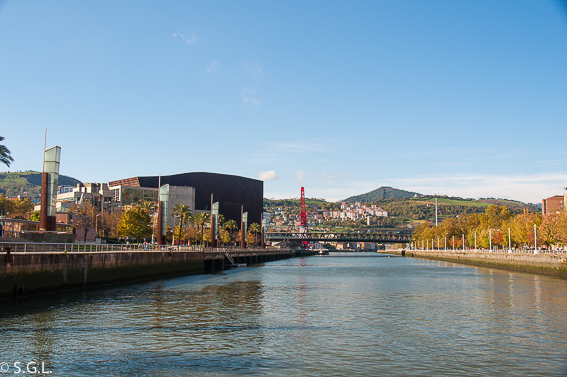 Puente Euskalduna. Bilbao, la ria y sus puentes