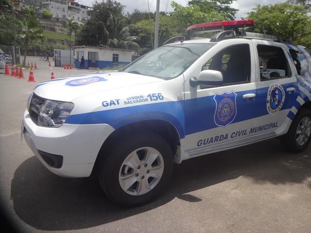 Guarda Civil de Salvador (BA) recebe novas viaturas operacionais