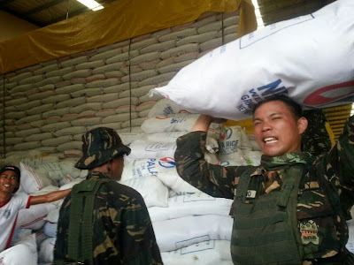 AFP helps for massive relief efforts