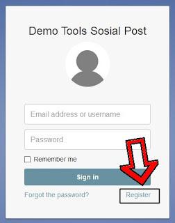 Demo Robot Promosi Facebook