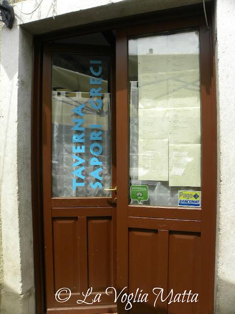 Taverna Sapori Greci a Trieste