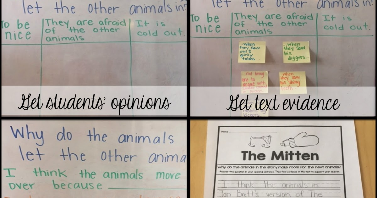 Sarah's First Grade Snippets: Digging Deeper with The Mitten