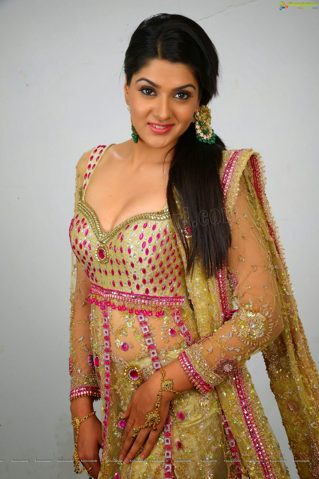 Sakshi Choudhary Hot  Spicy Images - Focus Reporter-8862