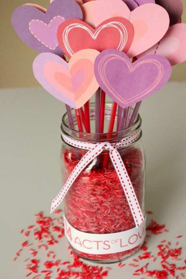 50 creative valentine day crafts for kids valentine crafts for kids valentinesdayideas. Black Bedroom Furniture Sets. Home Design Ideas