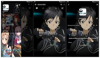 Download BBM MOD Sword Art Online APK V3.1.0.13