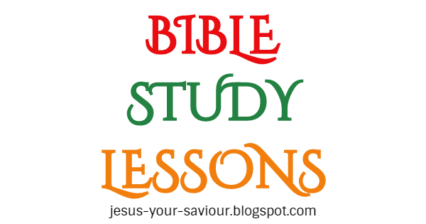 Bible Study Lessons