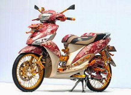 Gambar Modifikasi Yamaha Mio j