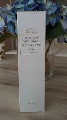 Missha All Around Safe Block Whitening Sun Mist