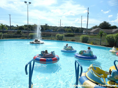 Bumper Boats at Adventure Sports in Hershey