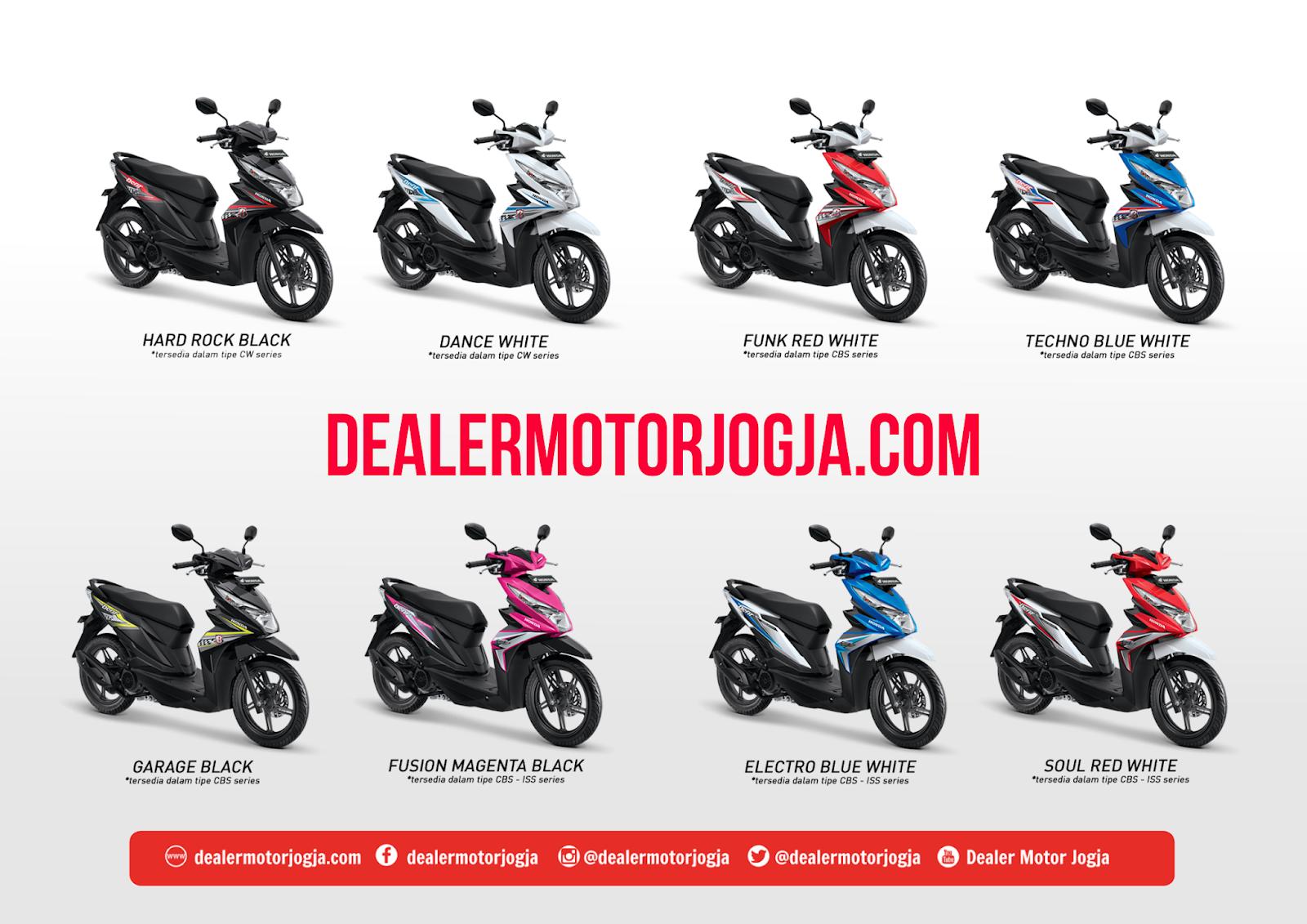Harga Promo Cash Kredit Honda Jogja Beat Esp Juni 2018 DEALER